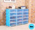 2014 caliente moderna 15 cubos grande grande azul de la margarita estilo garaje organizadores