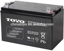 12V100AH MF Type and Sealed lead acid battery regeneration
