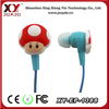 with volume control without mic alibaba mp3 flat cable earphone