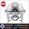 Hot Sale Catering Equipment Glass Lid Roll Top Chafing Dish