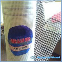 White Alkali Resistant Fiber Glass Mesh