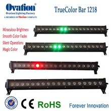 individual control IP65 outdoor led bar wall washer 16bit linear dimming led bar led bar meter
