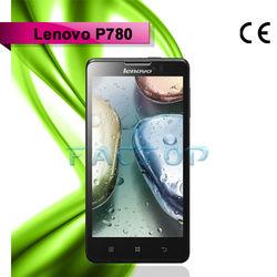 Russian language mobile phone MTK6589 Quad core 3G WCDMA GPS Bluetooth Lenovo P780 cell phone