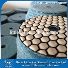 diamond dry hand polishing pads for granite/marble