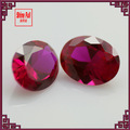 solta oval facetada corte sintético corindo ruby gems
