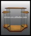 Caliente la venta de la fábrica de madera púlpito / cristal púlpito púlpito de la iglesia