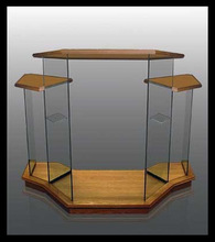 Hot Sell Factory Wood Pulpit/Glass Pulpit/Church Pulpit
