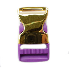 Fashion High Quality Metal Part Plastic Side Release Buckle