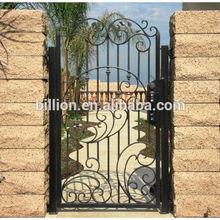 wrought iron gate art designs