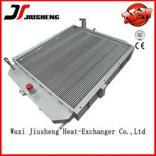 oil/air/water cooler for high pressure air compressor,custom made aluminm air compressor heat exchanger