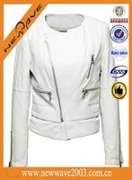 denim jacket leather sleeves for women