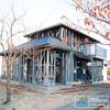 Economical steel structure house or villa building for sale