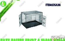 Folding Dog Kennel, High Quality Dog Crate, Welded Dog Cage DSA36