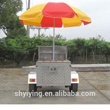 2014 shanghai YiYing YY-HS120D 2014 new street hot dog cart CE&ISO9001Approval street hot dog cart best global street hot dog c
