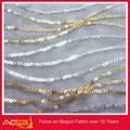 Den heißen verkauf Top 100 design 100% polyester luxuriöse faszinierende heißer verkauf glitter pailletten stoff panjabi anzüge panjabi kleid