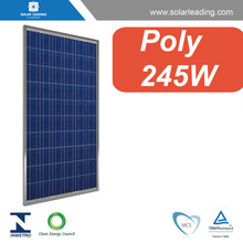 Hot sale 245W 30V panel photovoltaic for residential on grid solar energy systems