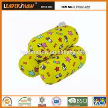 bright color pillow hello kitty pattern pillow decor tube pillow