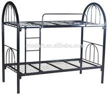 Dormitory metal mesh student bunk bed