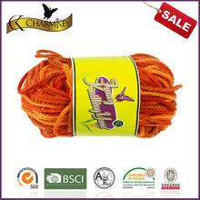 Multi Color 100% Acrylic Knitting Yarn 1*50g ball on sale