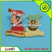 wedding gift metal wing badge/ playboy lapel pin emblems