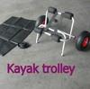 Boat Kayak Canoe Carrier Dolly Trailer Tote Trolley Transport Cart Wheels