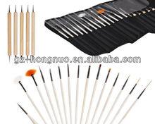 20pc Nail Art Design Painting Dotting Pen Brushes set HN1734