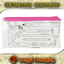 Factory direct sale pen pvc ziplock bag