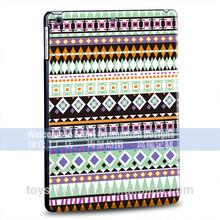 colour printing PC black hard case for ipad air for ipad mini