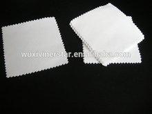 top quality logo printing custom jewelry cloth