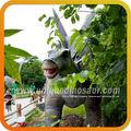 Dinosaure de résine modèle drôle. noms dinosaures parc d'attractions