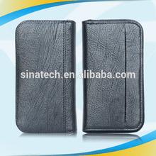 Factory hot selling unique wallet leather case for lg e960 nexus4