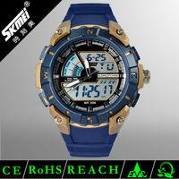 wholesale goods from china futuristic design fashion dual time plastic analog digital watch