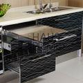 No formaldehído Metal mobiliario de cocina gabinetes de cocina