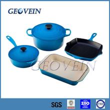 Non Stick Enamel Cast Iron Cookware