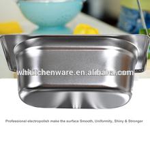 LFGB & NSF Approve Heavy Duty Stainless Steel gn pan swiss kitchen knife