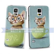 brand mobile phone animal design black hard case for Samsung S5 S5 mini Guangzhou manufacturer