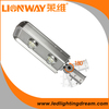 high power chip meanwell driver aluminum led street light housing with 5 years warranty