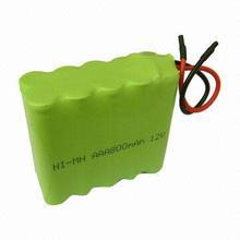 12V AAA Ni-MH battery pack 800mAh
