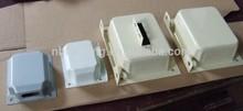 FQ-C101 Ningbo Fuqiang metal end bells, metal cover for transformer, transformer accessory for EI-66, EI-75, EI-96, EI-120