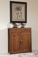 2014 Antique wooden shoe cabinet was made from American ash wood for living room furniture sets