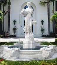 Garden sculpture, Fountain, landscaping and garden fountain