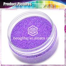 1 set mehrfarbig Glitter Powder Dust Finger Nail Art shinny Acryl