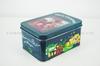 rectangular christmas tin box