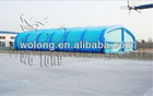 huge inflatable tent, blue inflatable marquee