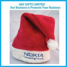 100% Polyester Felt Santa Caps wholesale santa claus hat
