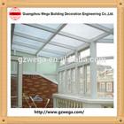 Sun winter garden glass house