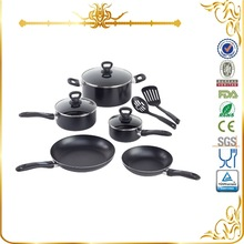 MSF-6343 excellent houseware 2014 kitchen accessories aluminum cookware set lava stone for cooking