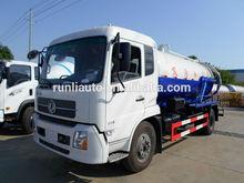 Dongfeng 4 x 2 vácuo caminhão de sucção de esgoto para venda