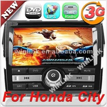 """Special offer 8"""" digital touch screen Car video player for Honda CITY 2012"""