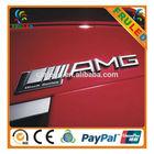 fashion decorate car emblems plastic car badges chrome letters for cars